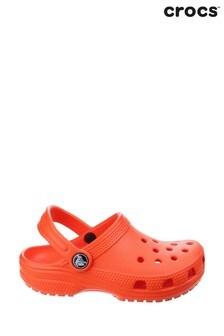 Crocs™ Orange Kids Classic Slip-On Clogs