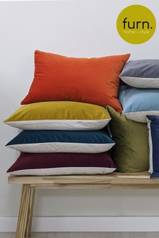 Furn Red Contra Cushion
