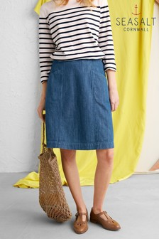 Seasalt Blue Chapel View Skirt