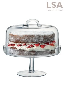 Serve Cake Stand And Dome by LSA International