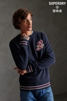 Superdry Varsity Chenielle Sweatshirt