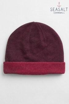 Seasalt Purple Reversible Hat