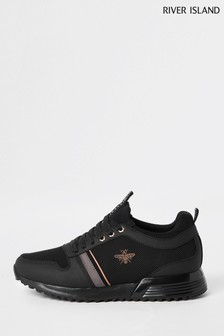 River Island Black Sydney Trainers