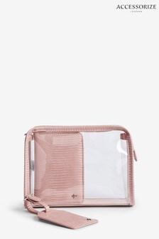 Accessorize Pink Travel Set