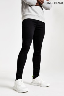 River Island Black Crow Skinny Jeans