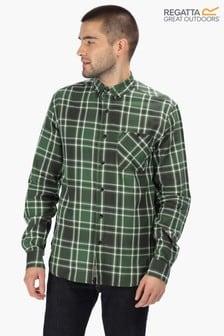 Regatta Black Lazare Long Sleeve Shirt