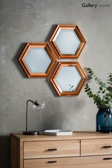 Fawkner Set Of 3 Mirrors by Gallery Direct