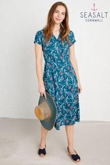 Seasalt Tall Blue Pencil Box Dress
