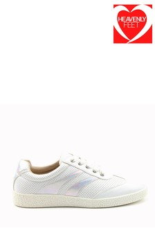 Heavenly Feet Crown Ladies White Ath-Leisure Shoes