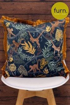 Monkey Forest Cushion by Furn