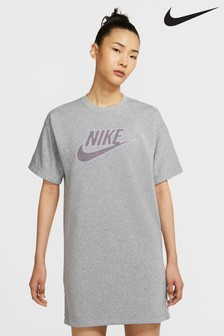 Nike NSW Dark Grey Tee Dress