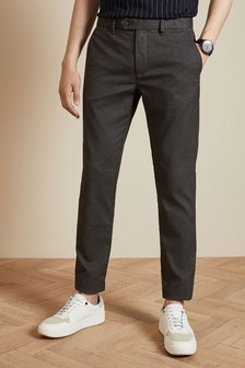 Ted Baker Grey Sarikar Semi Plain Trousers