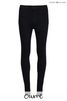 Tommy Hilfiger Black Curve Harlem High Waisted Super Skinny Jeans