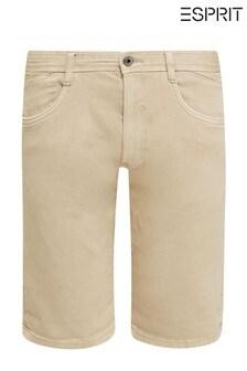 Esprit Cream Archroma Woven Shorts