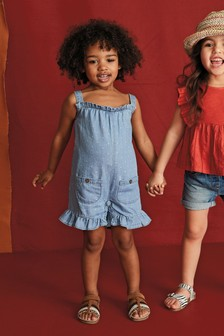 Frill Hem Playsuit (3mths-7yrs)