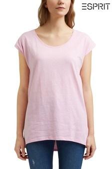 Esprit Pink Organic Cotton T-Shirt