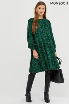 Monsoon Hulia Ditsy Print Jersey Dress