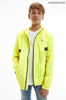 Calvin Klein Jeans Yellow Logo Tape Jacket