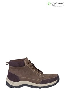 Cotswold Brown Slad Lace Up Boots