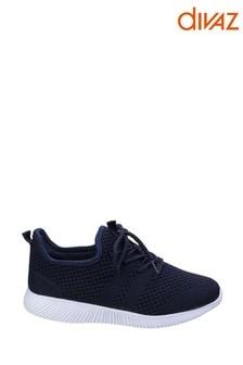 Divaz Blue Heidi Knit Shoes