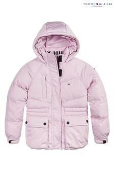 Tommy Hilfiger Pink Sporty Padded Jacket