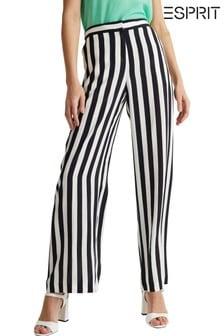 Esprit Natural Elegant Striped Pants