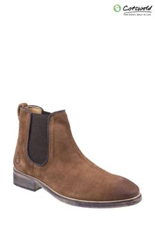 Cotswold Brown Corsham Chelsea Boots