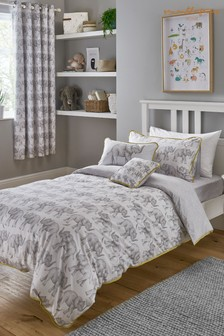 Sam Faiers Little Knightley's Elephant Trail Duvet Cover and Pillowcase Set
