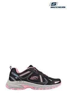 Skechers Black Hillcrest Vast Adventure Shoes