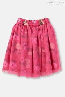 Angel & Rocket Floral Print Layered Tutu Skirt