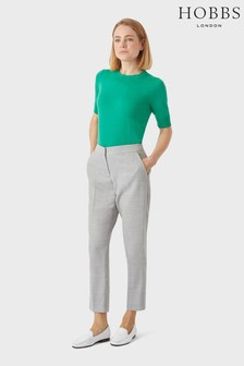 Hobbs Grey Aneta Trousers