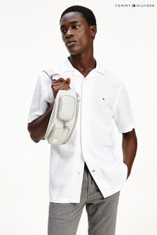 Tommy Hilfiger White Short Sleeve Shirt