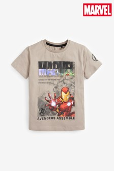 Marvel® Print T-Shirt (3-16yrs)