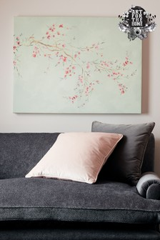 Watercolour Orchid Blossoms Wall Art by Art For The Home