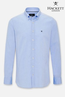Hackett Continuity Washed Oxford Shirt