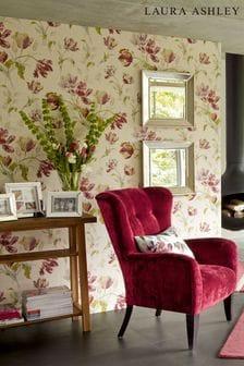 Cranberry Gosford Wallpaper