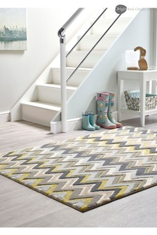 Monaco Chevron Wool Rug by Origins