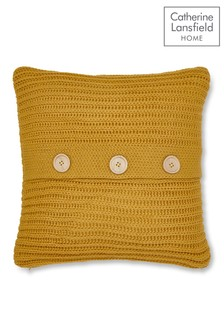 Chunky Knit Cushion by Catherine Lansfield