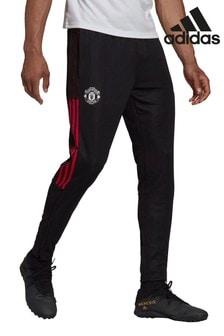 adidas Black Manchester United Training Joggers