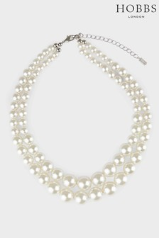 Hobbs White Tamsin Necklace