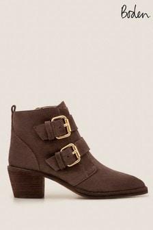 Boden Grey Aberdeen Ankle Boots