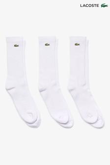 Lacoste® Crew Socks 3 Pack