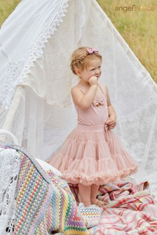 Angel's Face Pink Pixie Tutu Skirt