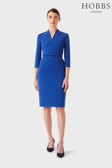 Hobbs Blue Dianna Dress