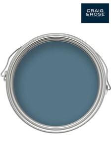 Chalky Emulsion Braze Blue 50ml Paint Tester Pot by Craig & Rose