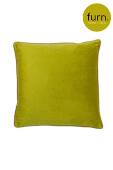 Furn Natural Gemini Double Piped Edge Cushion