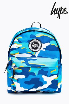 Hype. Blueline Camo Backpack