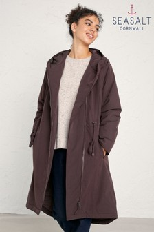 Seasalt Brown Pentewan Coat