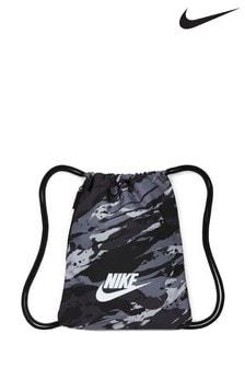 Nike Black Camo Gym Sack
