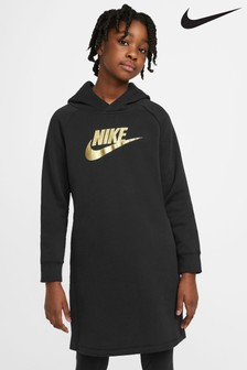 Nike Black/Gold Hoody Dress
